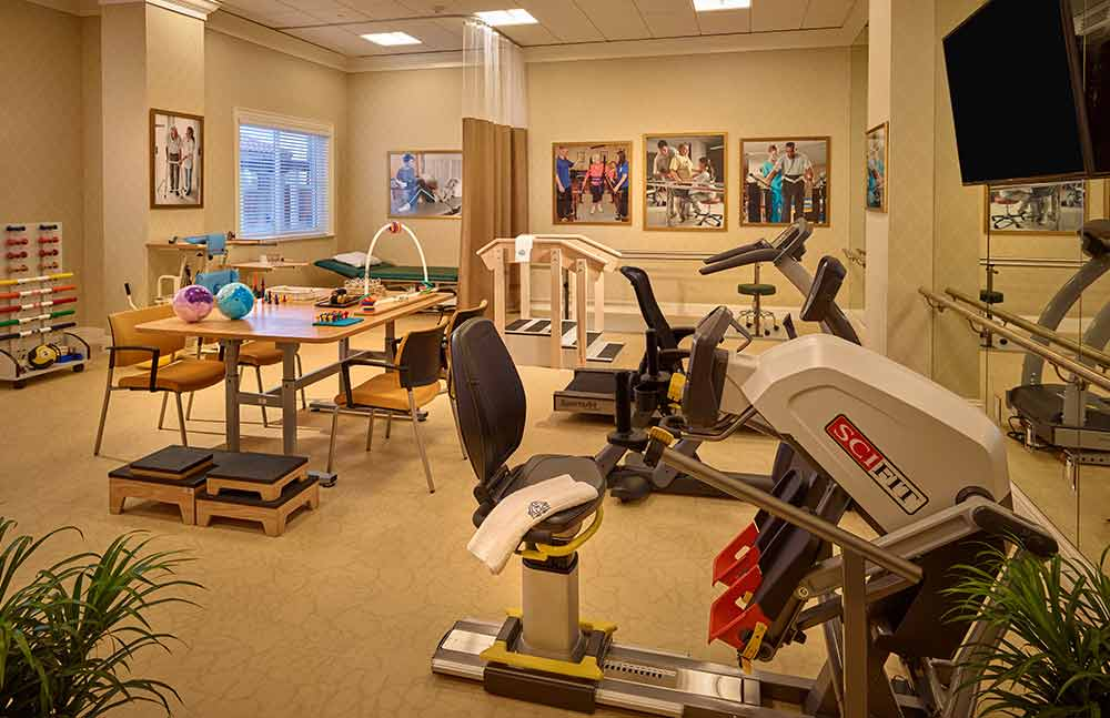The Palace Gardens fitness room